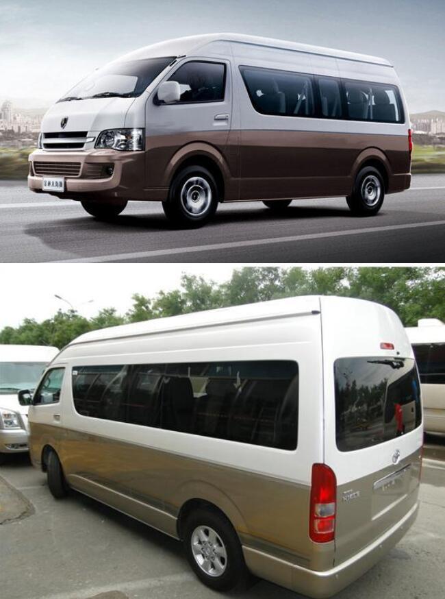 重庆14座丰田海狮包车带司机接送一般多少钱