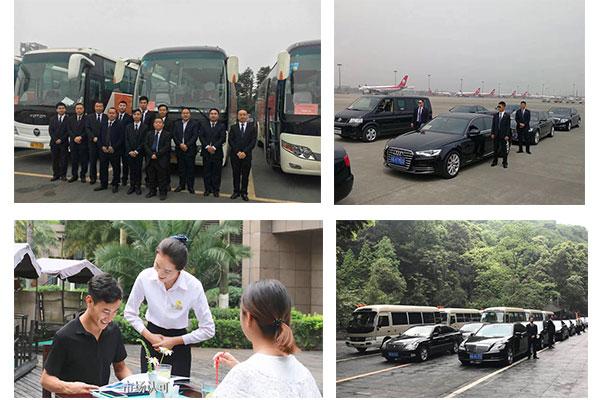 重庆国信租车服务形象展示