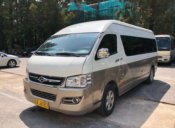 重庆中巴车租车价格表