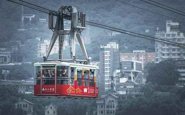 重庆市内三日游:长江索道