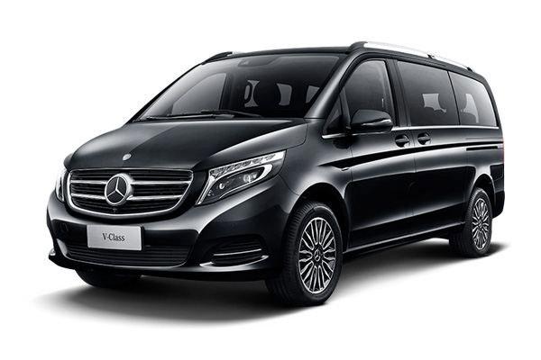 重庆租商务车7座奔奔驰V260价格费用多少钱